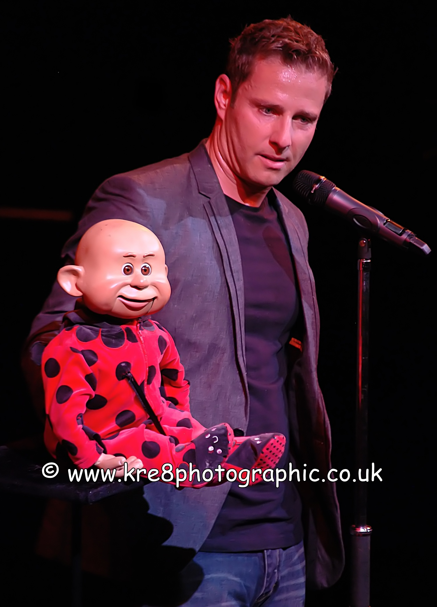 Paul Zerdin Grand Theatre Blackpool Live Theatre Theatrical Photography By www.kre8photographic.co