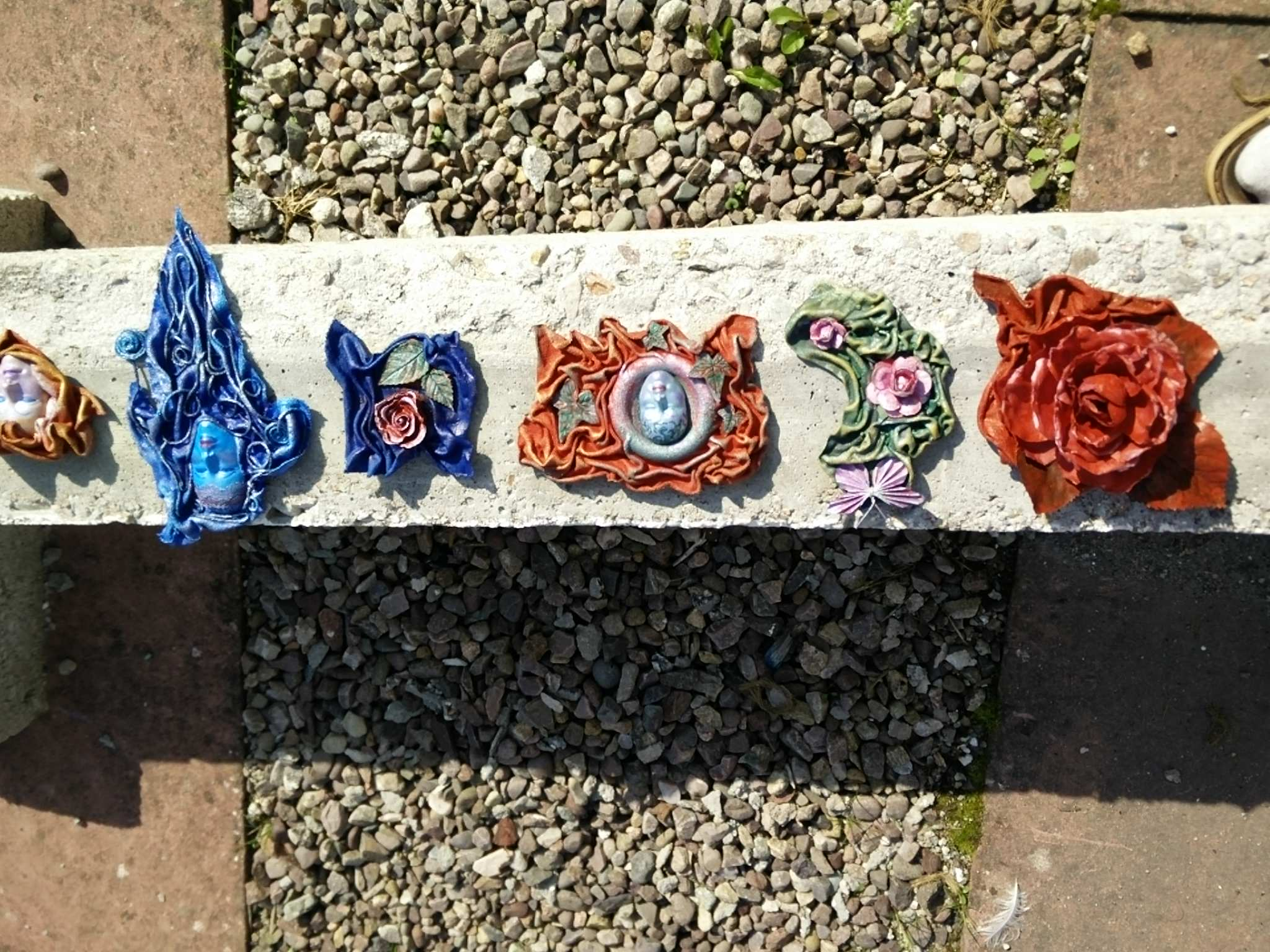 brooches on lintel