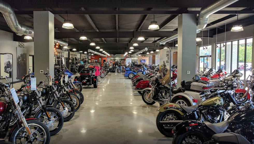 Cox Harley Davidson Polished