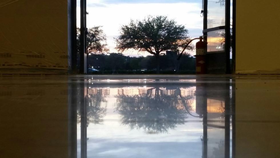Retail Facility, Polished Concrete