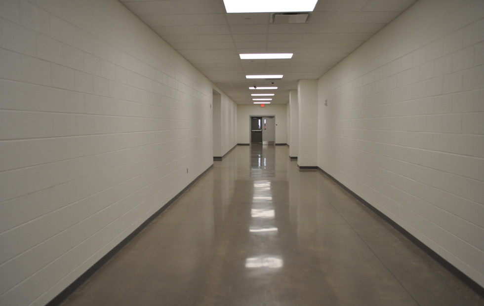 Guilford Middle School Hallway