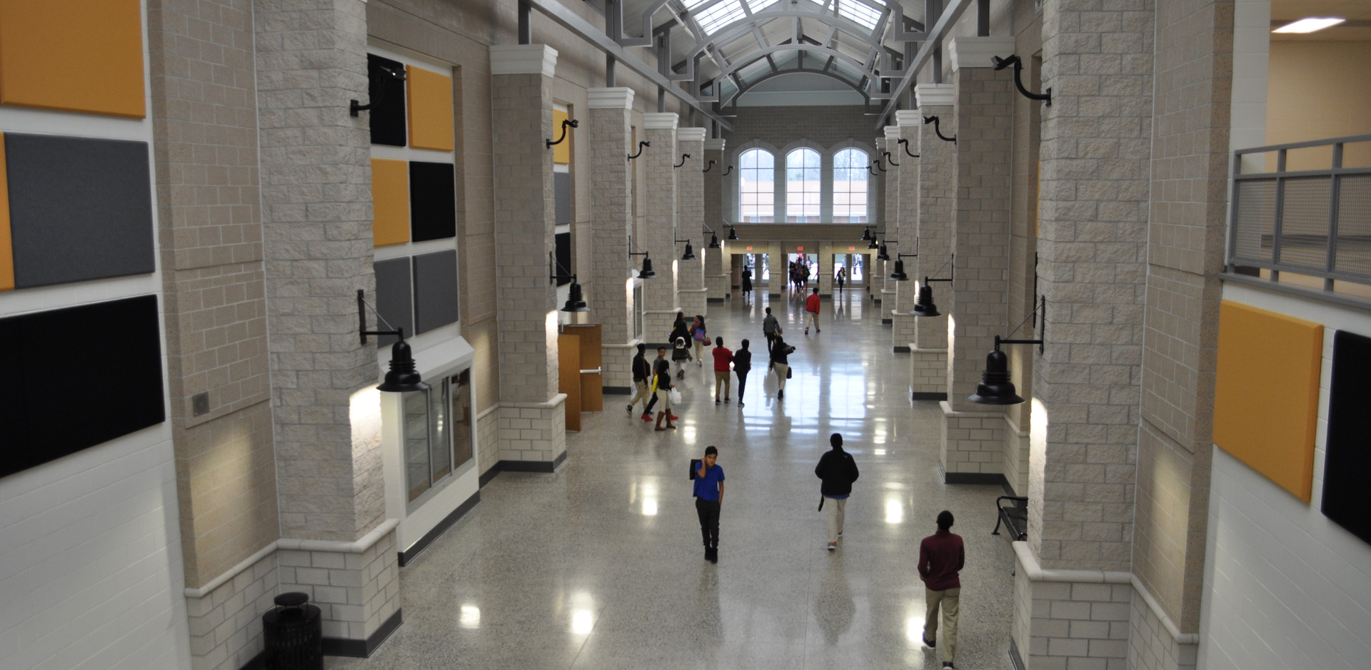 Guilford Middle School Main Hall 2