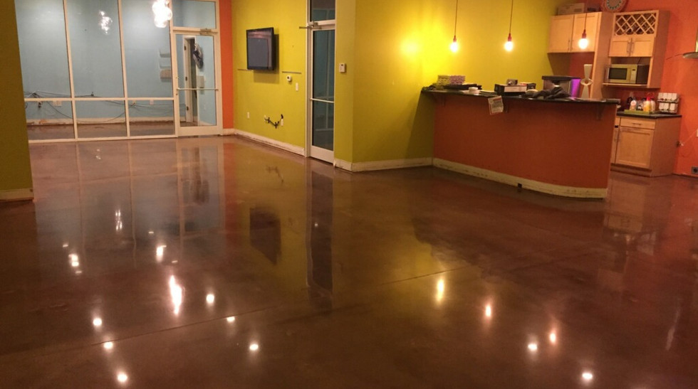 Axcess Clubhouse Stained and Polished 3