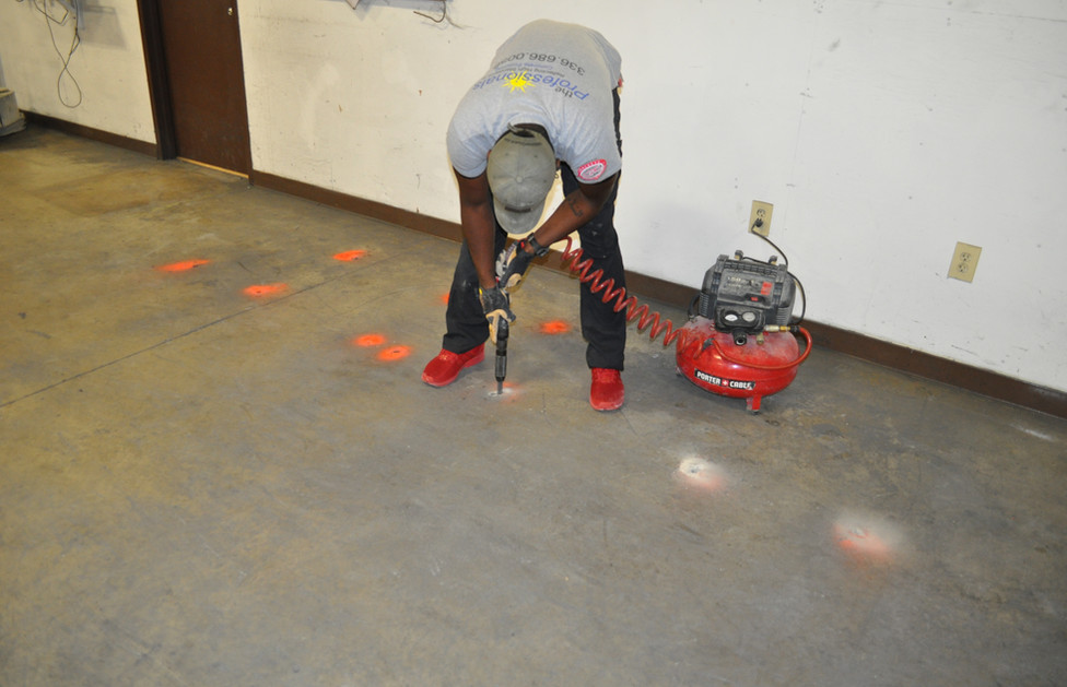 Southern Spring and Stamp Polishing Hole Repair