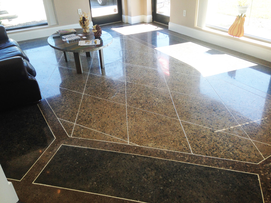 Job Name, What was Done - Polished Concrete Professionals