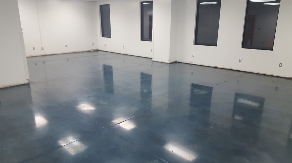 Montgomery Community College, Meeting Room Stained and Polished