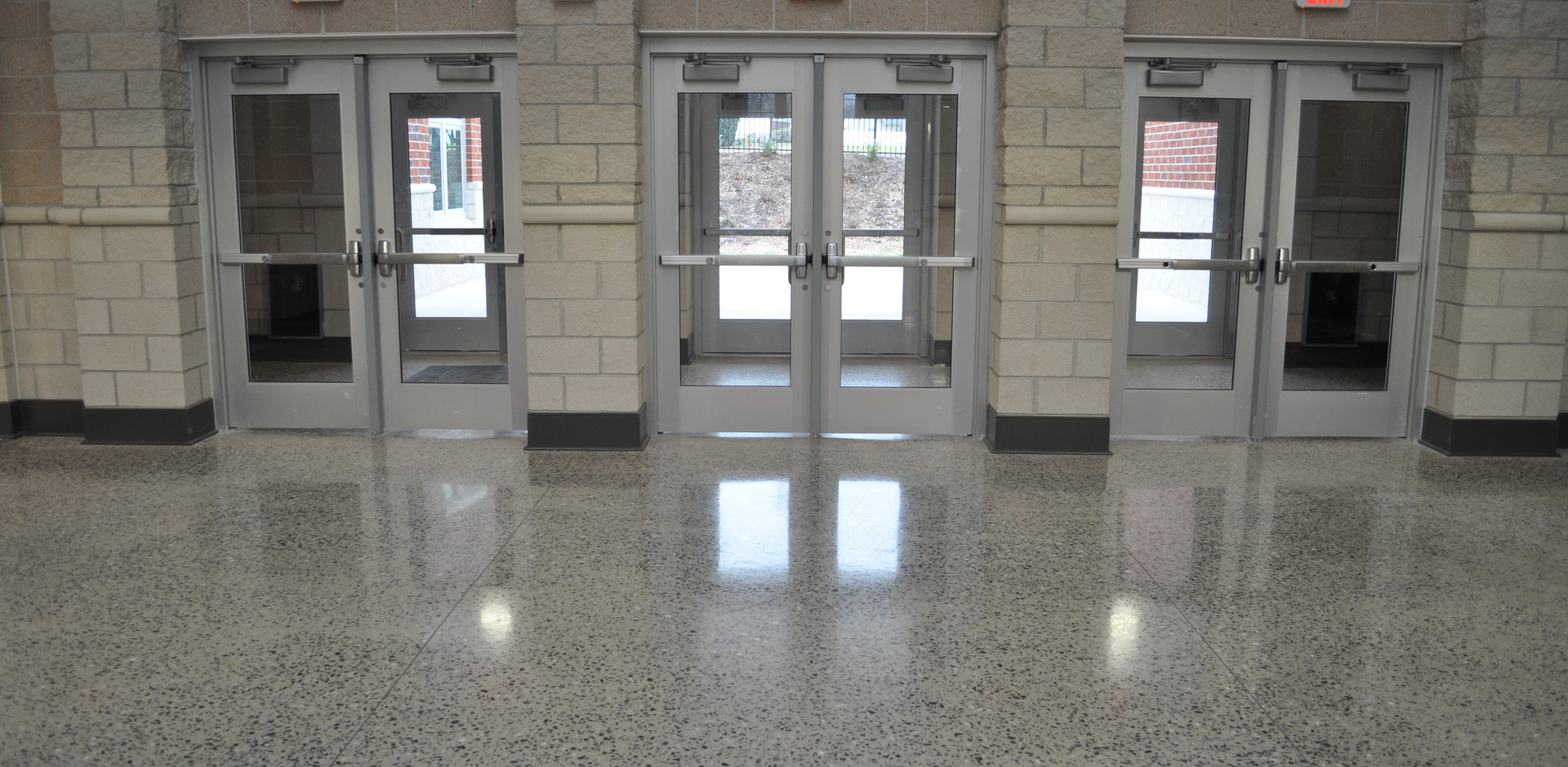 Guilford Middle School Entrance