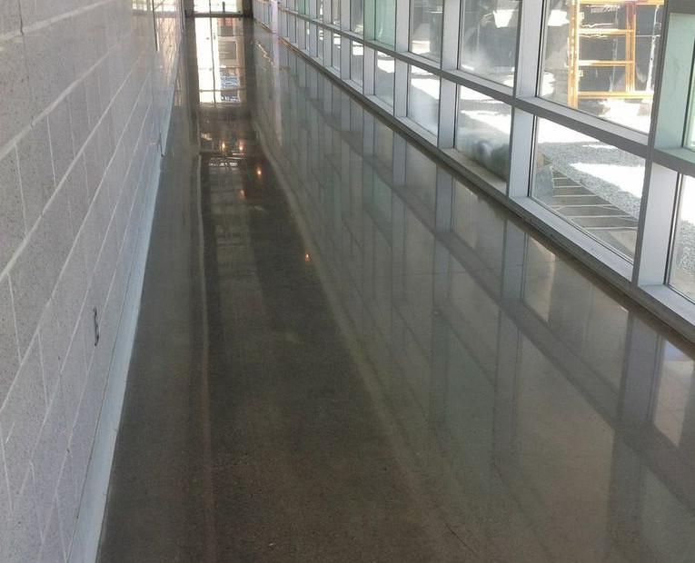 University of TN Music Center, Polished Concrete