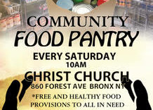 Food Distribution - Every Saturday in The Bronx