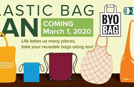 Plastic Bag Ban, in effect since March, will now be enforced - NYS DEP