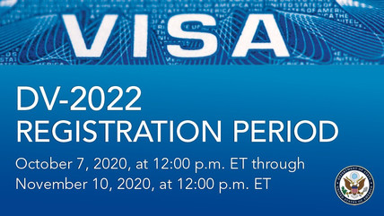 U.S. Visa Lottery Application Period Begins