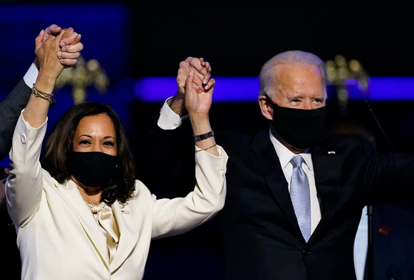 Congratulations to the Newly Elected Leaders of the World - Joe Biden and Kamala Harris