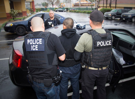 ICE RAIDS NET OVER 2,000 IMMIGRANTS IN LARGEST SWEEP DURING PANDEMIC