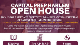 Open House - Capital Prep Harlem Introduces An African Sister As The New Principal
