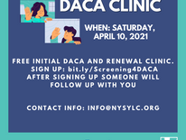 "Are You Eligible for ""Green Card"" Through DACA? Register For This Free Clinic To Find Out."