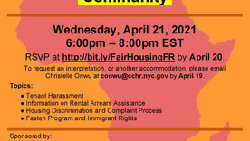 Your Home, Your Rights - Presentation by NYC Human Rights Commission