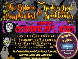 NYPD engages the community with Special Halloween Treat