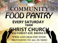 Free Food For Your Families Every Saturday - Stop By and Grab Yours