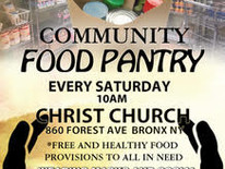 Free Food For Your Families Every Saturday