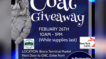 Winter Coat Giveaway, Free Tax Prep and Covid Vaccine
