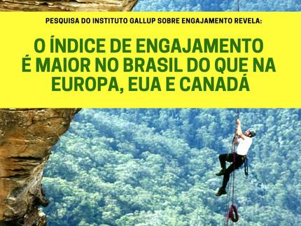 Por que os funcionários Brasileiros são mais engajados que os Europeus?