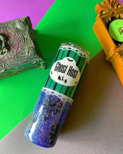 Ghost Host Glitter Tumbler