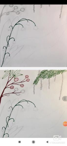 Wie ein Kunstwerk entsteht