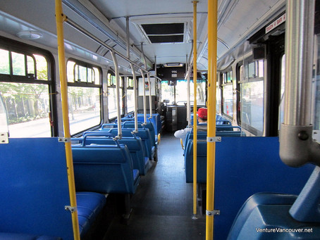 If the bus is empty, is something stupid going on?