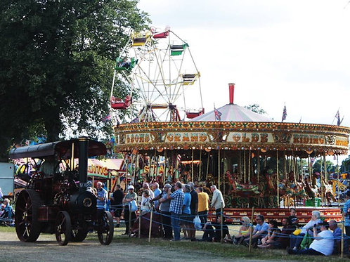 ## CANCELLED## ASTLE PARK TRACTION ENGINE RALLY next in 2021