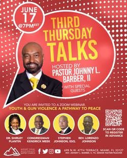 Official - Third Thursday Talks - JUNE Flyer