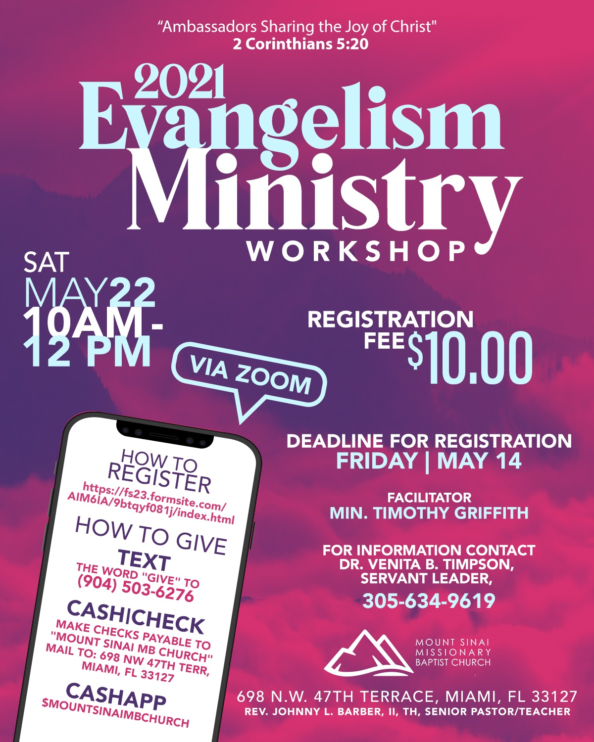 Evangelism Ministry Workshop Flyer (1)