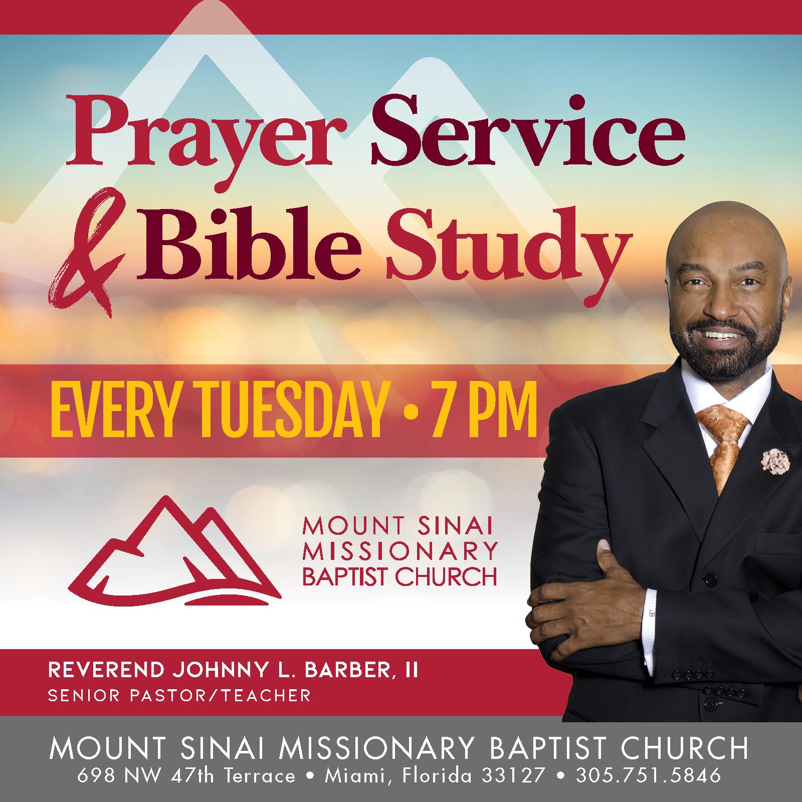 2018 Prayer Service - MSMBC