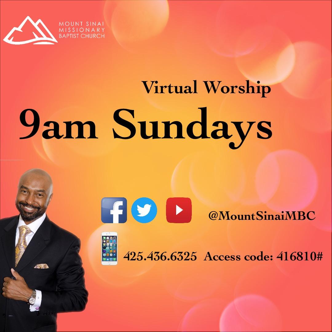 Sunday Virtual Worship  2