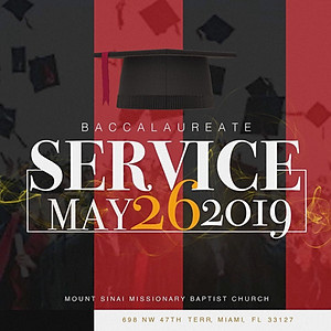 Baccalaureate Sunday 2019