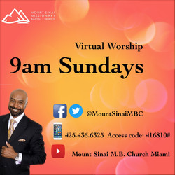 Sunday Virtual Worship