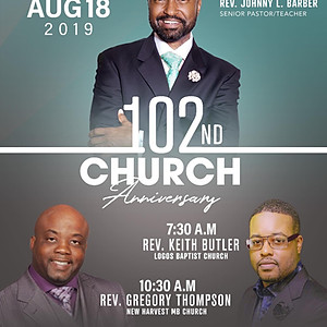 102nd Church Anniversary