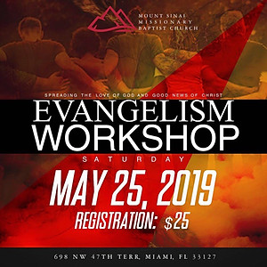 Evangelism Workshop 2019