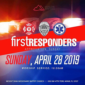 First Responders Sunday 2019