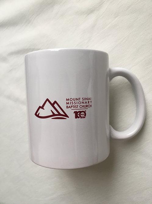 White Ceramic 11 Oz. Mug