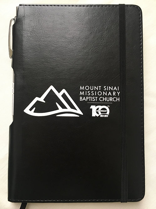 Black Pen w/Notebook