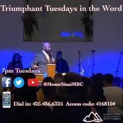 Triumphant  Tuesdays 3