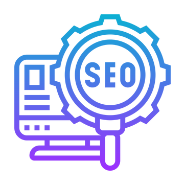 evie studios seo search engine optimisation magnifying glass computer