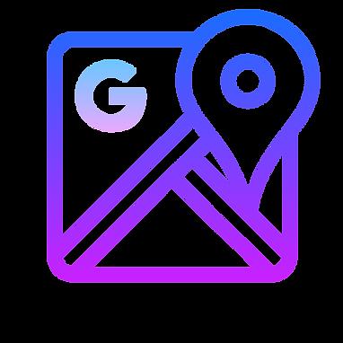 evie studios google map maps google ad interface logo