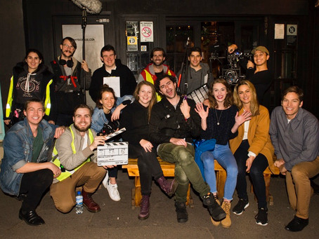 And on the 7th day, we finally wrapped! 🎉🍾🥂🙌💪