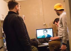 indie film crew LONEROSS Absit film