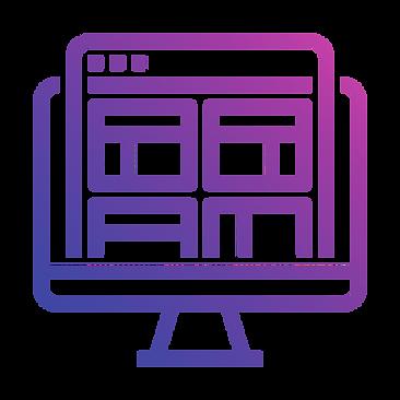 evie studios  website monitor imac windows apple screen browser web design