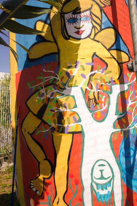 Mural Le Fabuleux - Comemoração aos 50 anos da Instituição Liceu Pasteur