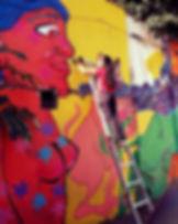 Trabajo! #grafitti #grafite #muralart.jp