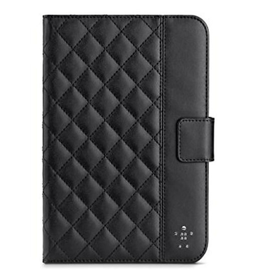 Belkin Quilted Cover With Stand For Ipad Mini In Black