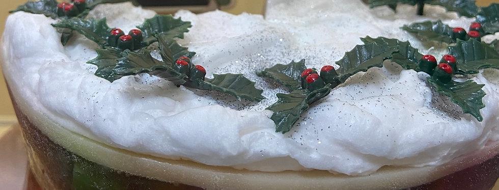 Christmas Soap Cake